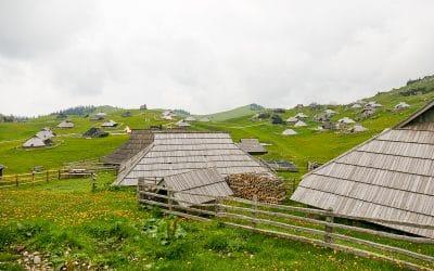 Bike tour Velika Planina shepherds huts 2