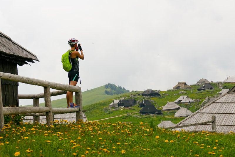 Kolesarjenje po Veliki planini