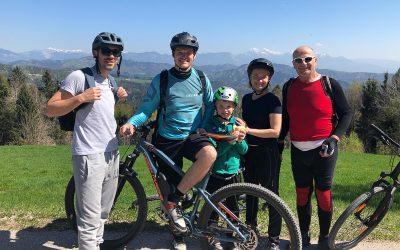 Bike tour Skofja Loka with the guests
