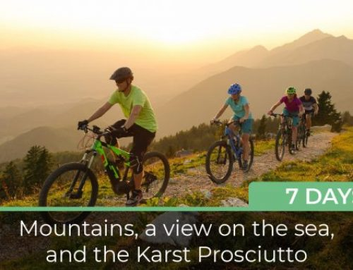 Mountains, a view on the sea, and the Karst Prosciutto