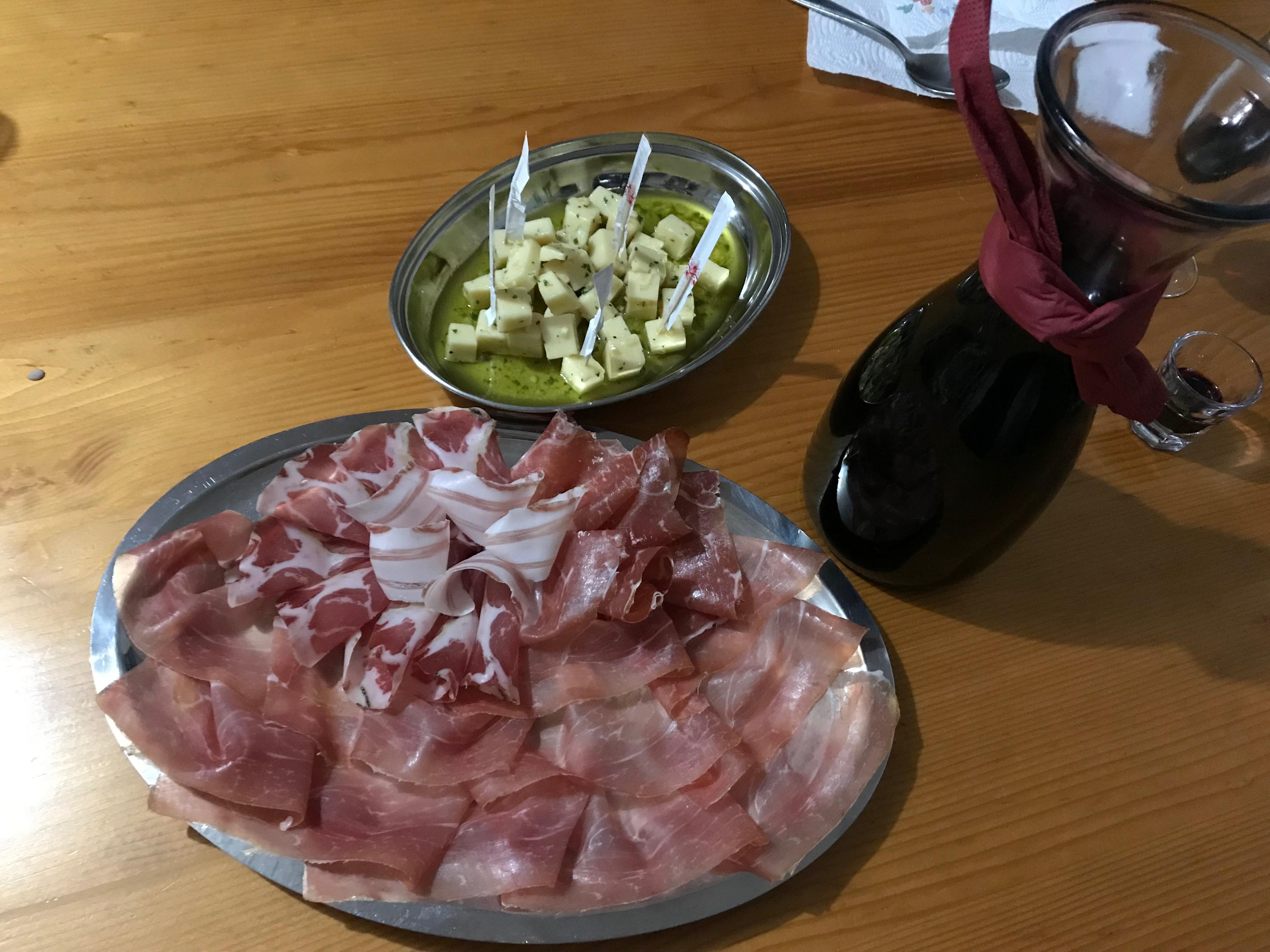 Slovenian food - Karst Prosciutto