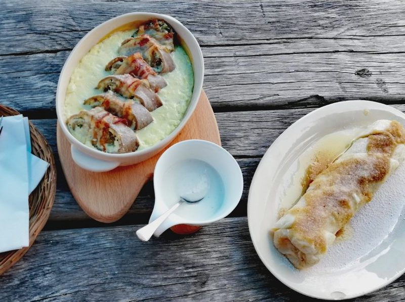 Slovenian food - Štruklji