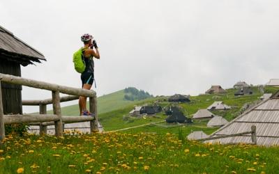 Slovenian Alps bike tour velika planina