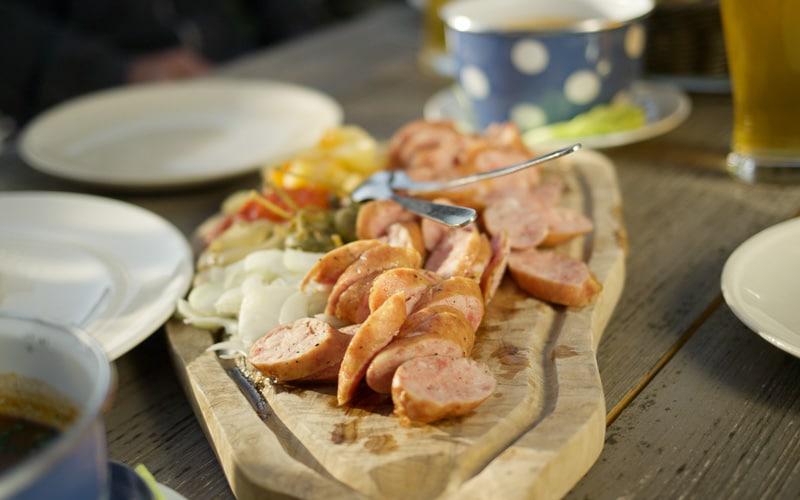 Top 10 Slovenian Foods Kranjska Klobasa