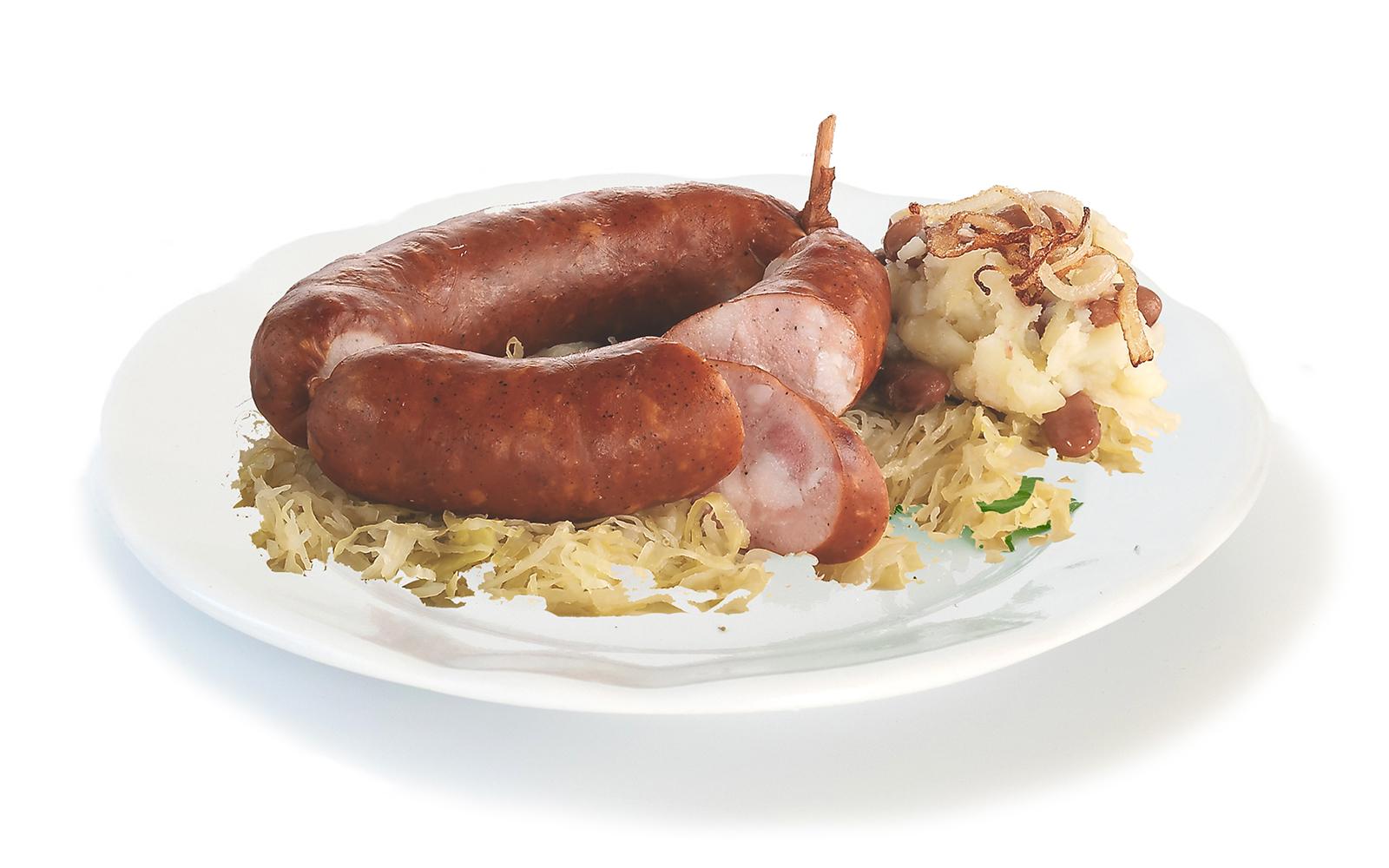 Slovenian food - kranjska klobasa