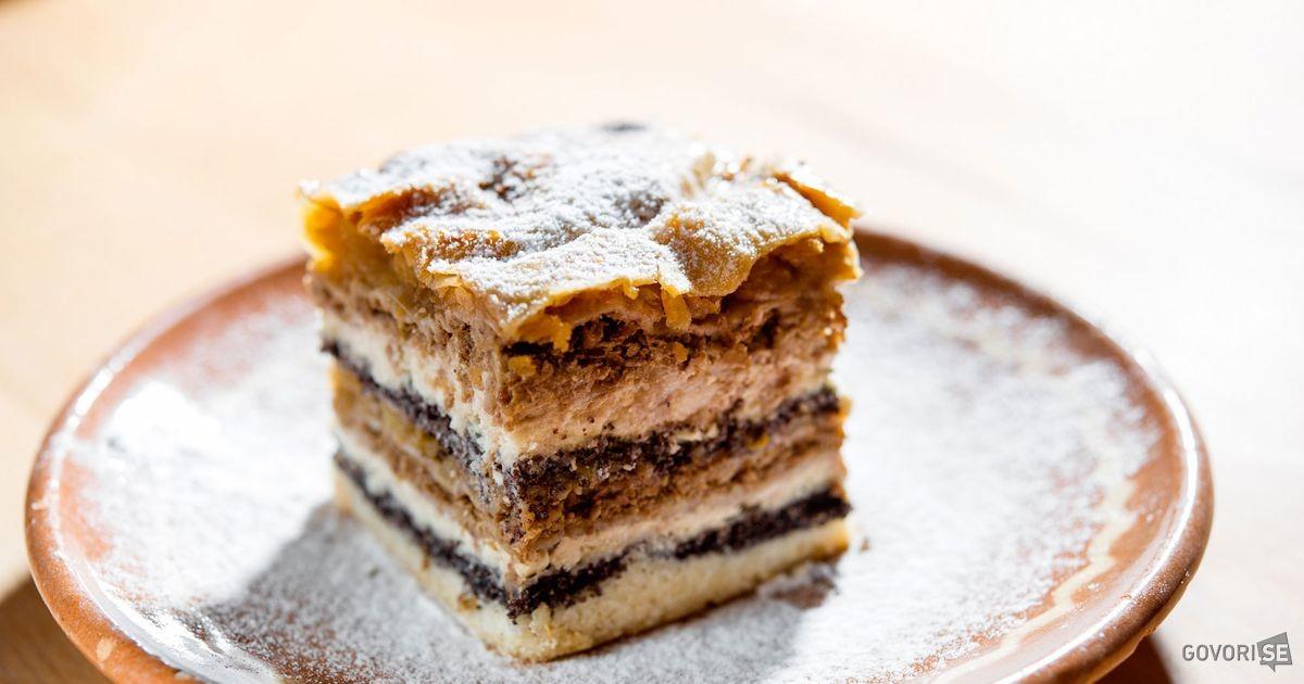 Slovenian food - prekmurska gibanica