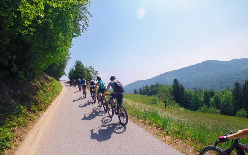 why e-bike Slovenia - Soca valley