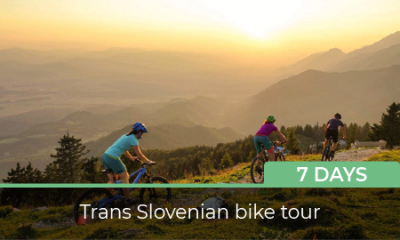 Bike holidays in Slovenia - a view from Karawanken