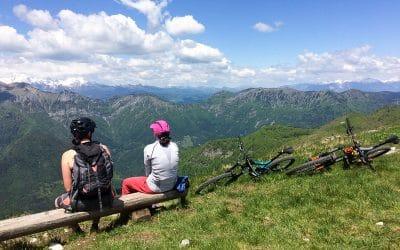 Bike tour Škofja Loka with panorama view