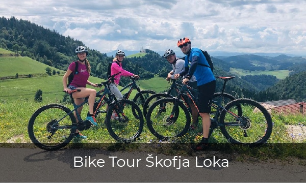 Bike tour Slovenia- Skofja Loka and old army road