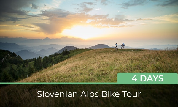 Bike tour Slovenia - Alps