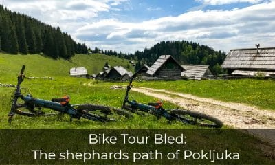 One day bike tours in Slovenia - Pasture Zajamniki with bikes