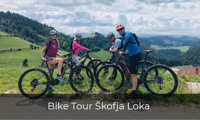 One day bike tour in Slovenia - Škofja Loka bike tour