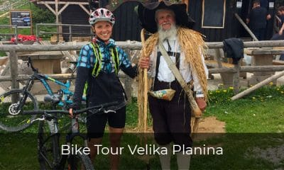One day bike tour in Slovenia - Bike tour Velika planina