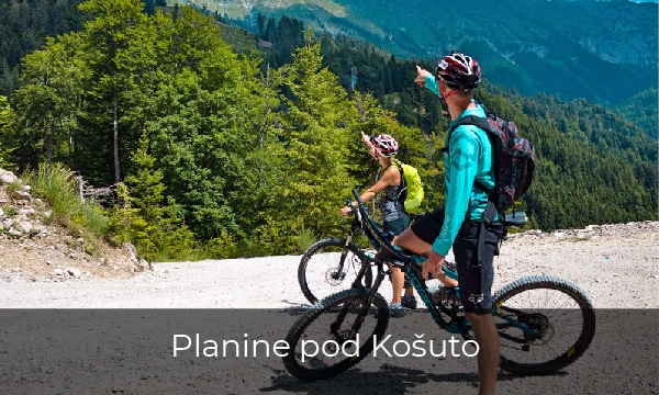 Kolesarski izlet na planine pod Košuto
