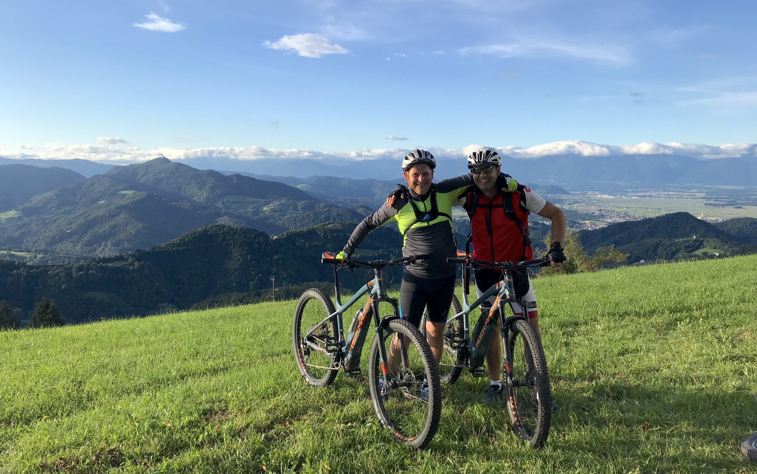 Cycling trails in Slovenia