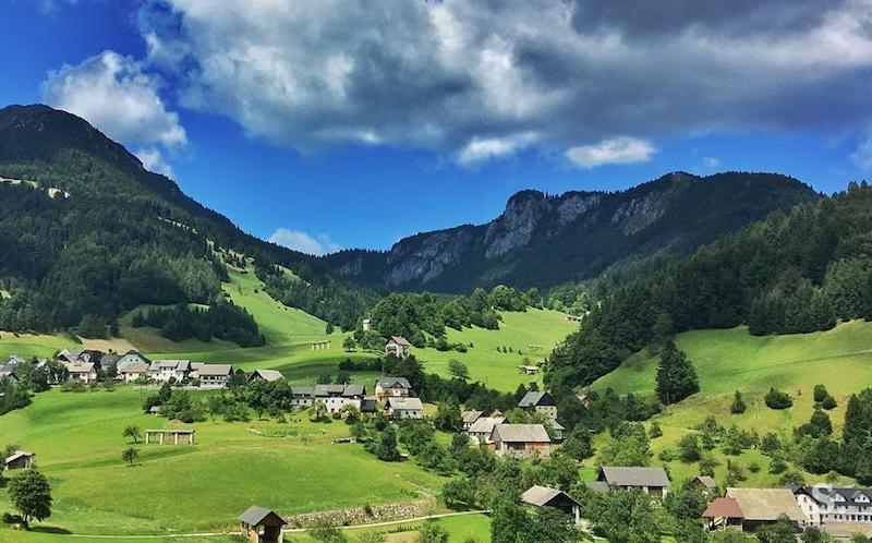 Remote village Sorica.