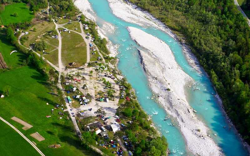 Best camping place in Soca valley