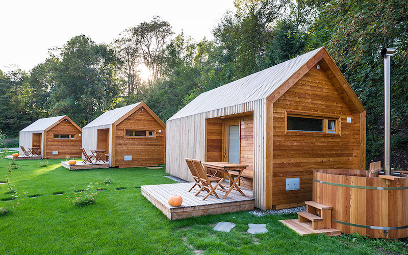 Best cycling Hotels in Slovenia - Glamping Trzic