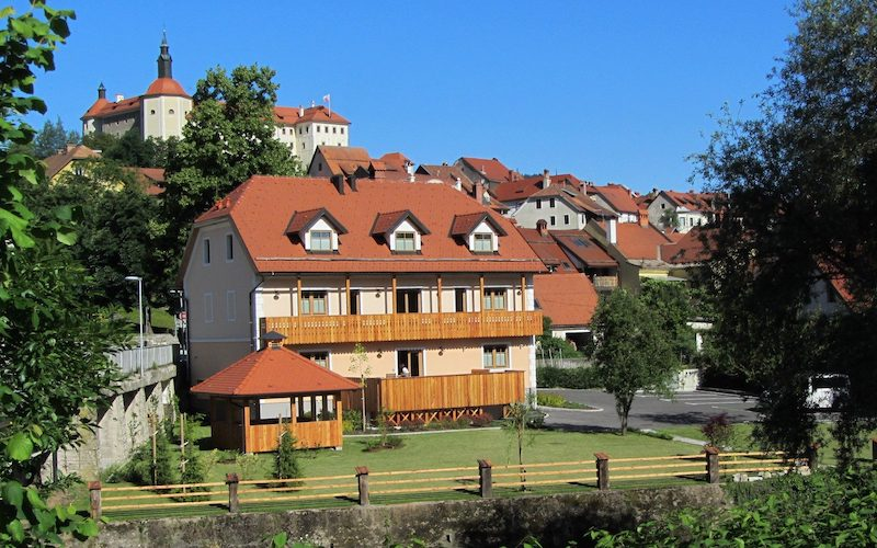 Best cycling hotel in the centre of Skofja Loka.