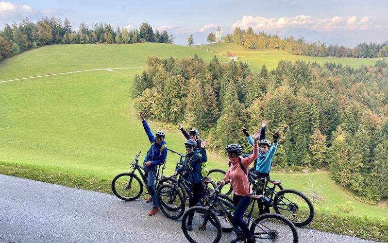 Škofja Loka region, hidden cycling beauty.