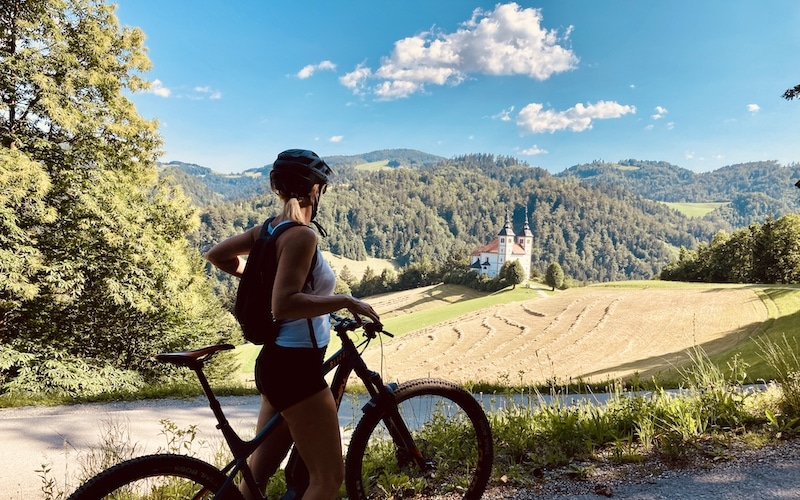 Cycling hotels in Slovenia are just a door-step away from nature.