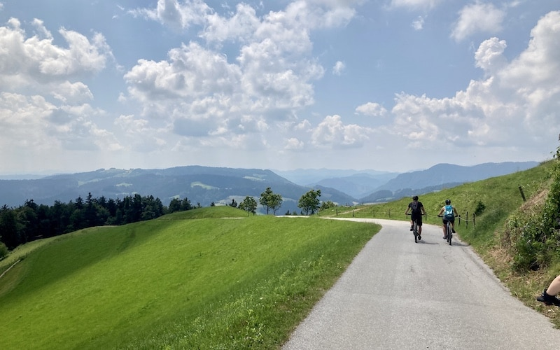 Another long-distance cycling trail of Skofja Loka